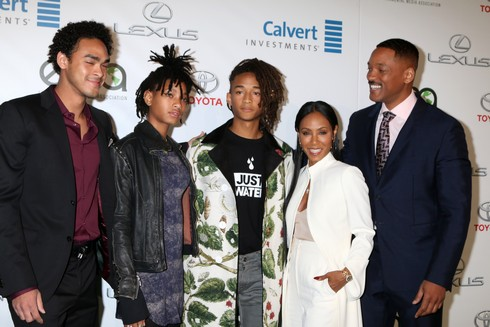 26th Annual Environmental Media Awards (EMA) - Arrivals Featuring: Trey Smith, Willow Smith, Jaden Smith, Jada Pinkett Smith, Will Smith Where: Los Angeles, California, United States When: 22 Oct 2016 Credit: Nicky Nelson/WENN.com