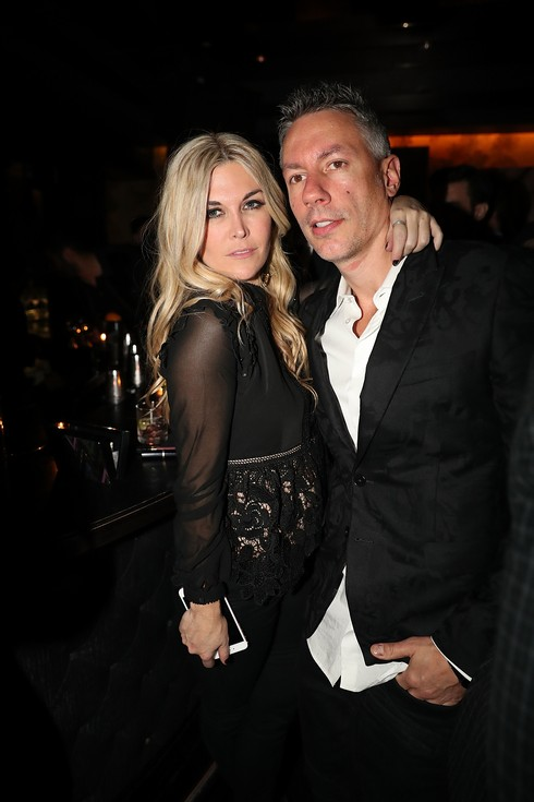 NEW YORK, NY - NOVEMBER 16: Tinsley Mortimer and Barry Mullineaux attend Beautique 2 year Anniversary at Beautique on November 16, 2016 in New York City. (Photo by Johnny Nunez/WireImage)