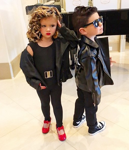 The best part of Halloween is not the candy itu0027s all of the cute little kids dressed up in their Halloween costumes for trick-or-treating!  sc 1 st  Reality Tea & Reality Stars Show Off Their Kidsu0027 Halloween Costume Pics - Kim ...