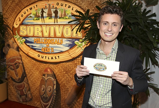Survivor winner Adam