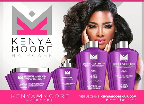 Kenya-Moore-Hair-Care