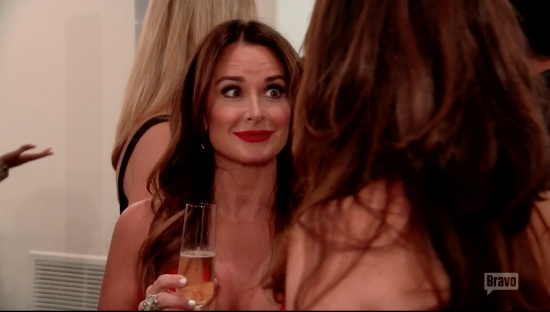 Kyle Richards Nervous