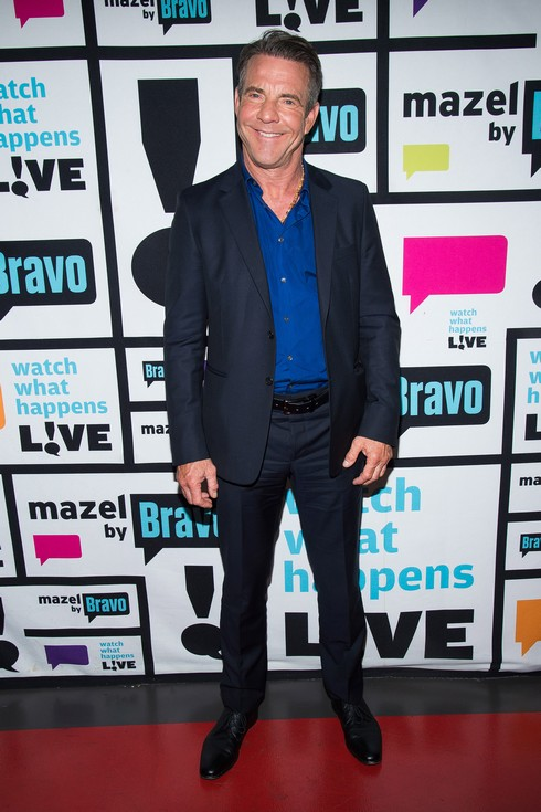 WATCH WHAT HAPPENS LIVE -- Pictured: Dennis Quaid -- (Photo by: Charles Sykes/Bravo/NBCU Photo Bank via Getty Images)