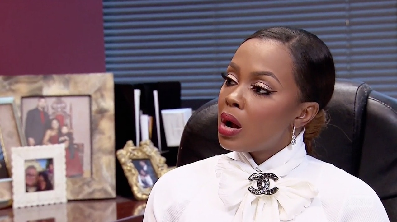 Phaedra gets some info about Kandi