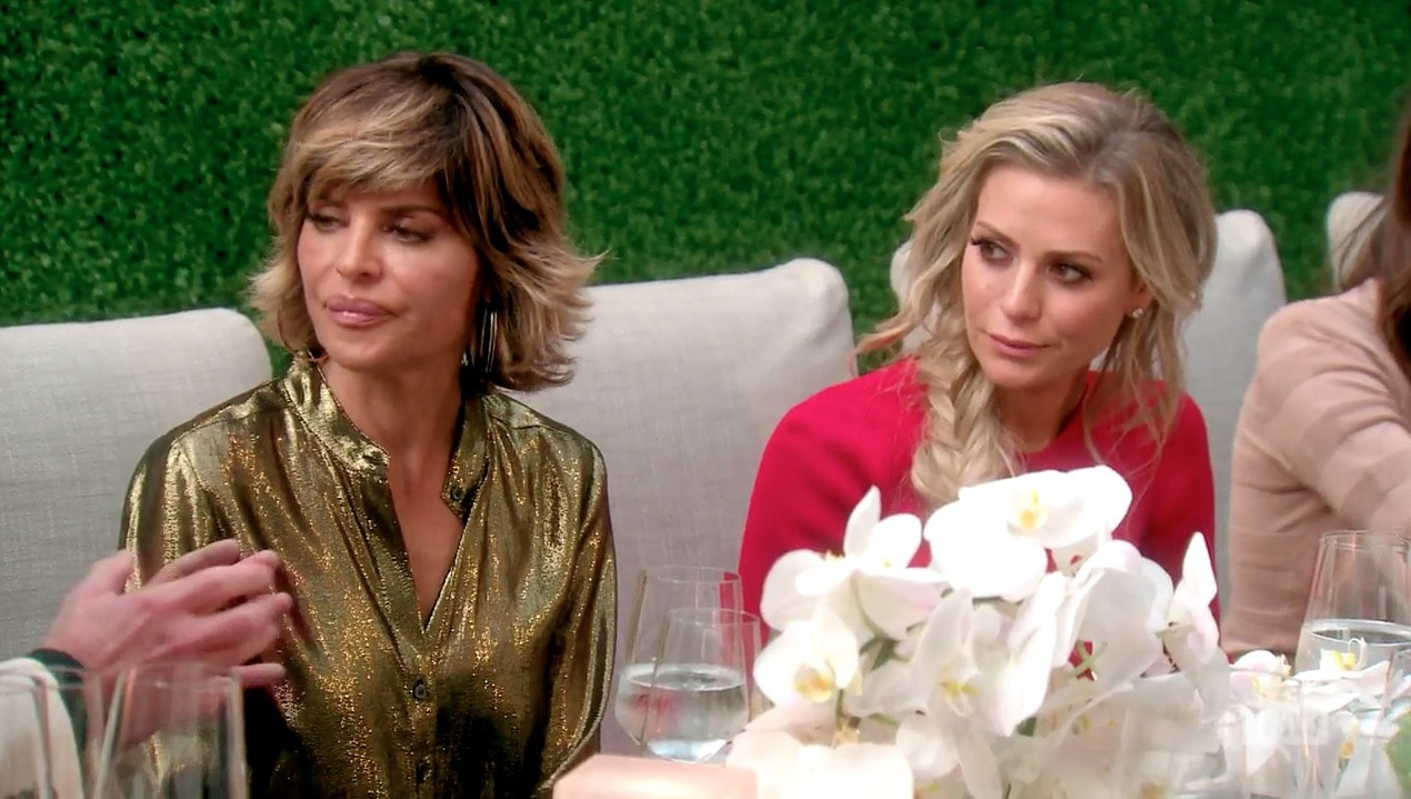 Lisa Rinna is confused by Dorit & PK