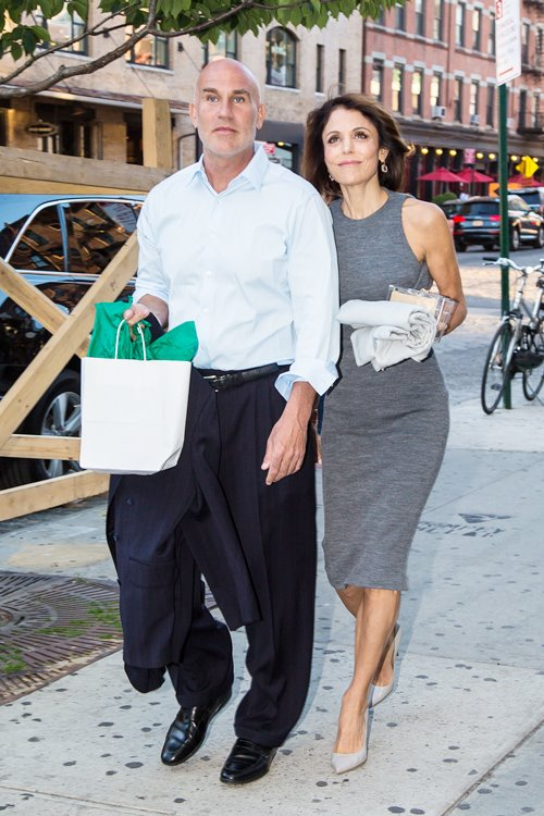 Bethenny Frankel and Dennis Shields