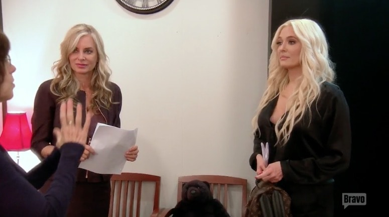 Erika auditions for the Y&R
