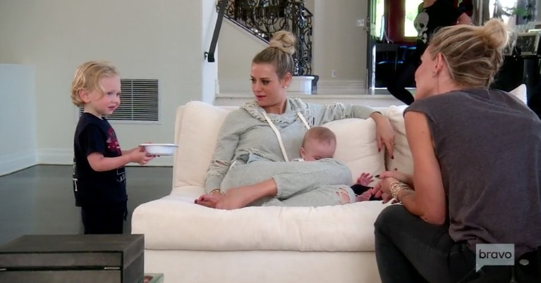 Dorit and Eden chat