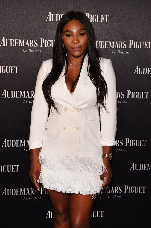 "MIAMI BEACH, FL - NOVEMBER 29:  Serena Williams attends the Audemars Piguet Art Commission Presents ""Reconstruction of the Universe"" By Sun Xun on November 29, 2016 in Miami Beach, Florida.  (Photo by Bryan Bedder/Getty Images for Audemars Piguet)"