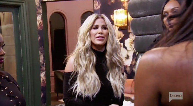 Kim Zolciak attacks Kenya Moore
