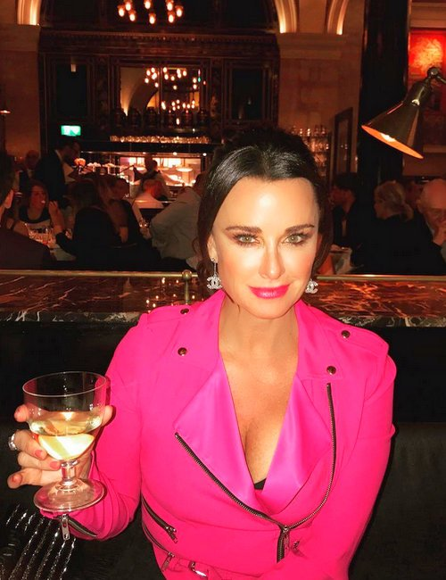 Kyle Richards family vacation