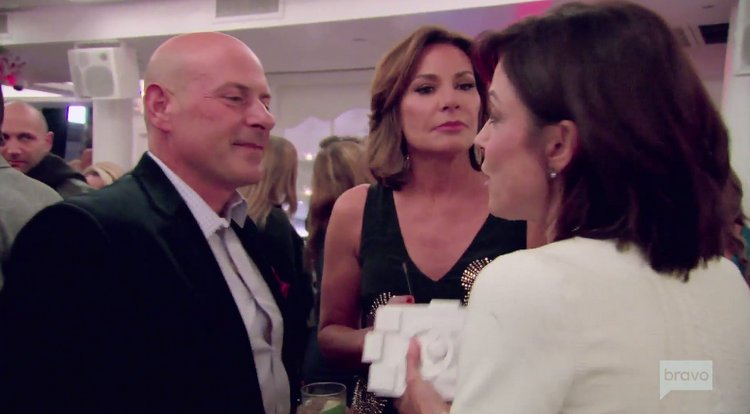 Tom.Dagostino.Luann.Delesseps.Bethenny.Frankel.Party.RHONY