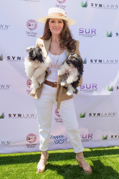 LOS ANGELES, CA - JUNE 25: Lisa Vanderpump attends 2nd Annual World Dog Day at Vanderpump Dogs on June 25, 2017 in Los Angeles, California. (Photo by Tara Ziemba/Getty Images)