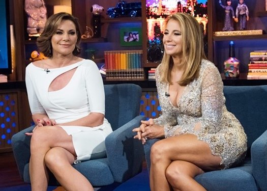 Jill Zarin and Luann de Lesseps on WWHL