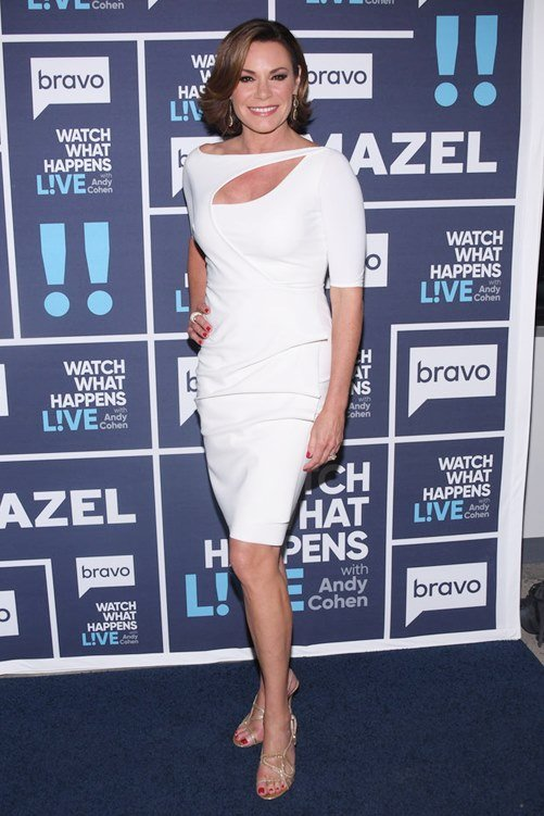 WATCH WHAT HAPPENS LIVE WITH ANDY COHEN -- Episode 14101 -- Pictured: Luann D'Agostino -- (Photo by: Charles Sykes/Bravo)