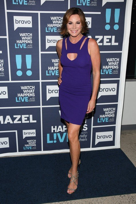 Luann D'Agostino Denies Slapping Tom; Thinks Sonja Morgan Called Page Six