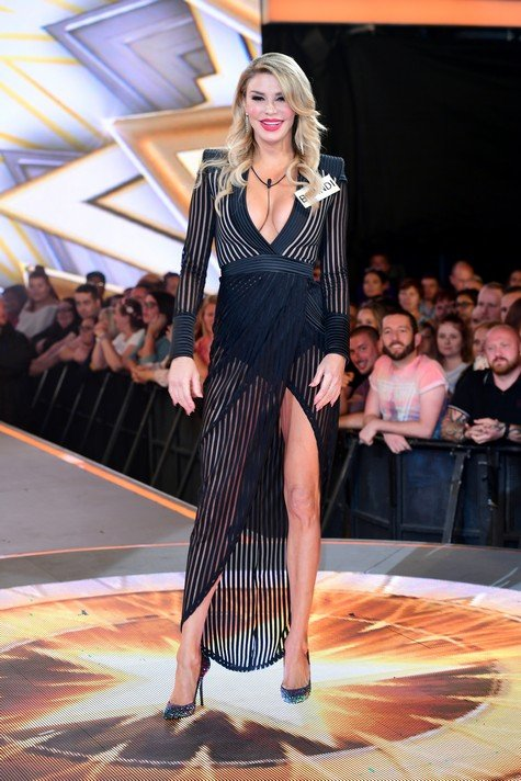 Brandi Glanville enters the Celebrity Big Brother house at Elstree Studios in Borehamwood, Herfordshire. (Photo by Ian West/PA Images via Getty Images)
