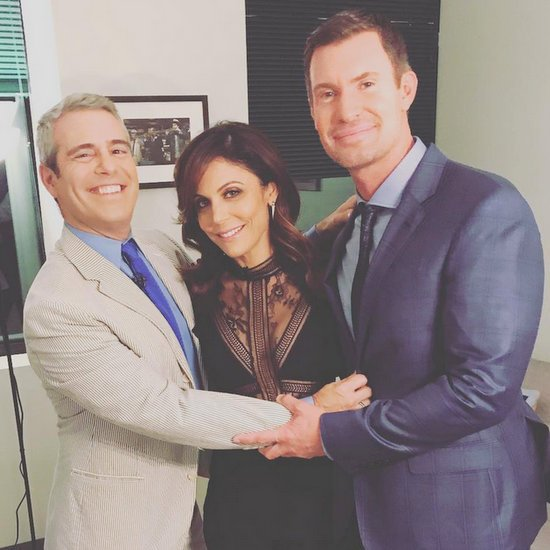 Jeff Lewis and Bethenny Frankel on WWHL