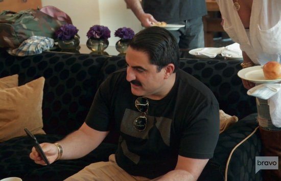 Shahs of Sunset Recap - Reza