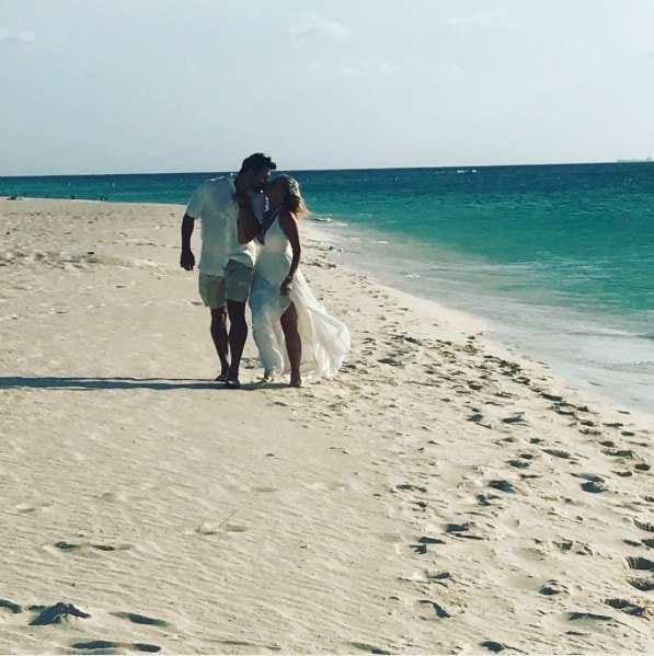 Tamra & Eddie Renew Vows In Aruba