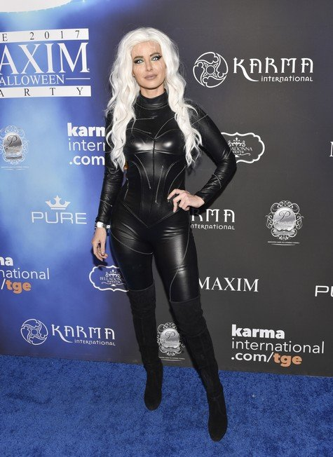 Reality Stars Attend Maxim Halloween Bash
