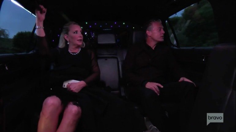 Shannon & David limo ride