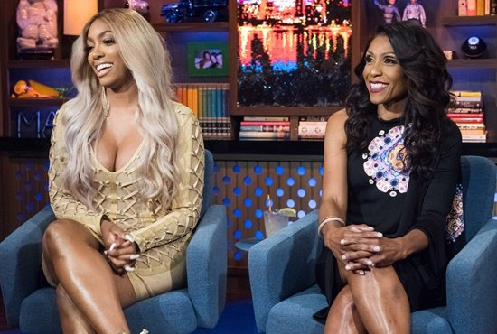 Porsha Williams and Dr Jackie Walters on WWHL