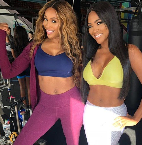 Kenya Moore & Cynthia Bailey Have A Secret Project In The Works