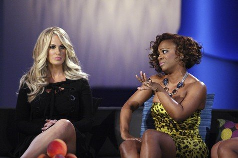Kandi Burruss Slams Kim Zolciak For Lying On Tonight's Episode Of Real Housewives of Atlanta