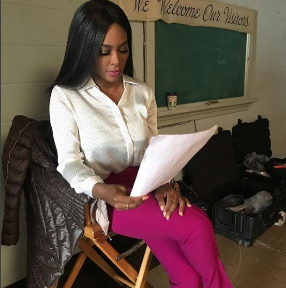 Kenya Moore Has An Acting Project In The Works