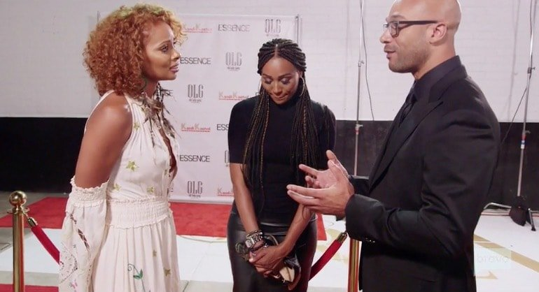 Eva Marcille confronts Will