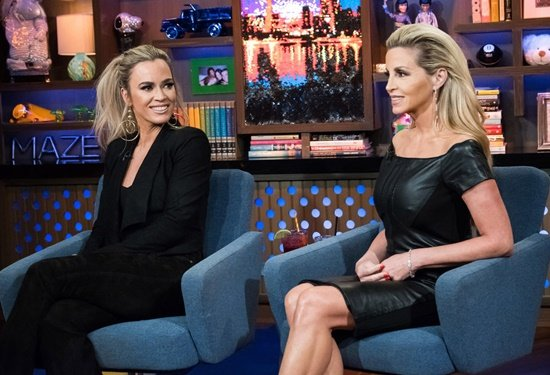 Camille Grammer and Teddi Mellencamp