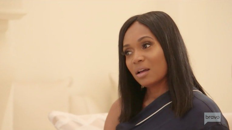 "Marlo Hampton Attempts To Drag Kenya Moore By Posting Old Text Conversations; Says Kenya Was The One ""Chasing After Rich Men"""