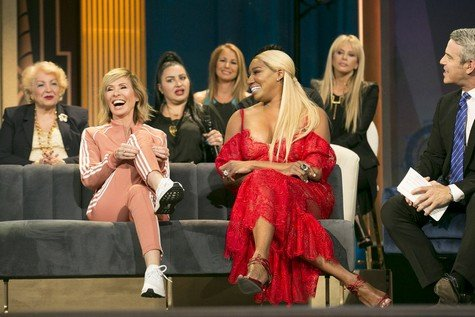 Hot Photos: Dorinda Medley & 31 Surprise Guests On Watch What Happens Live; NeNe Leakes Has Beef With Reza Farahan