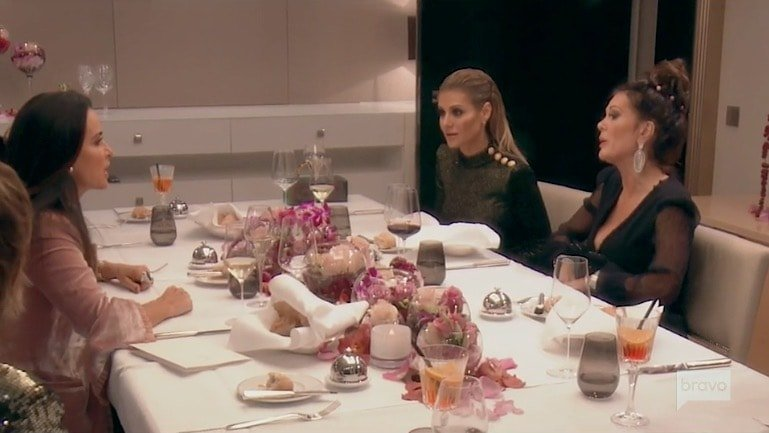 Kyle, Dorit and Lisa Vanderpump