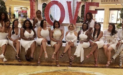 Kandi Burruss Celebrates Her Birthday In Las Vegas