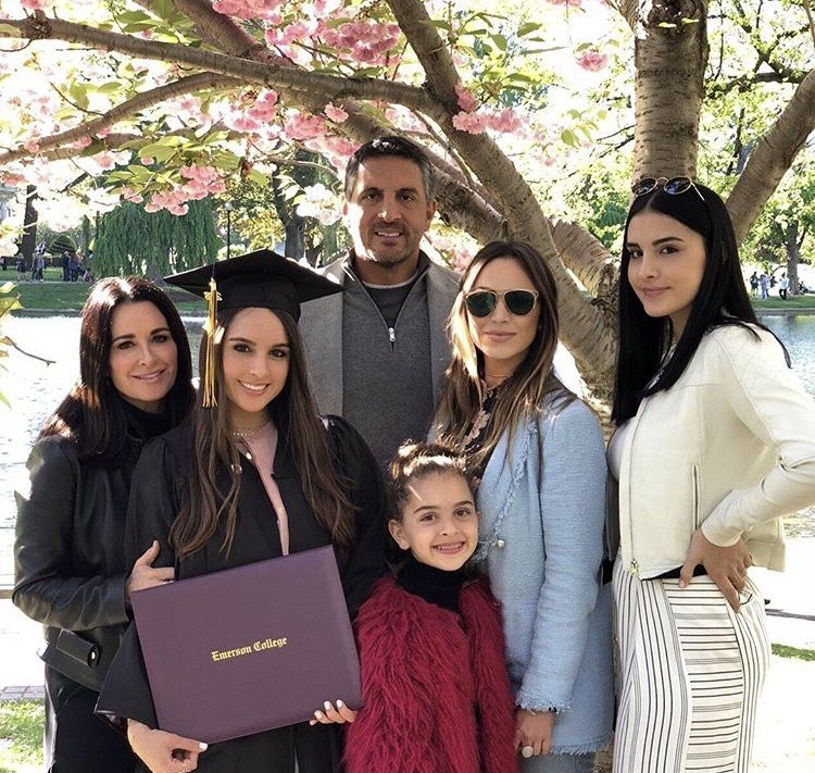 Kyle Richards' Family In Boston For Daughter Alexia Umansky's College Graduation- Photos