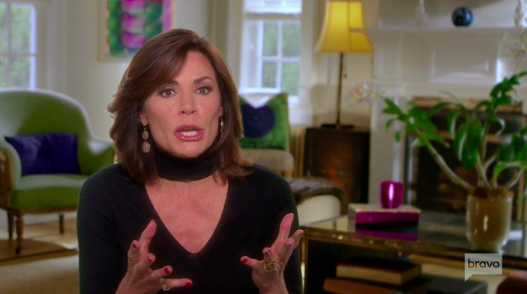 """Luann de Lesseps Says It """"Wasn't A Good Idea"""" To Go Back To Palm Beach After Her Divorce"""