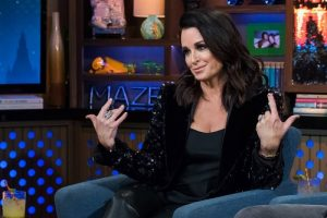 Kyle Richards of The Real Housewives of Beverly Hills Responds To Plastic Surgery Comments