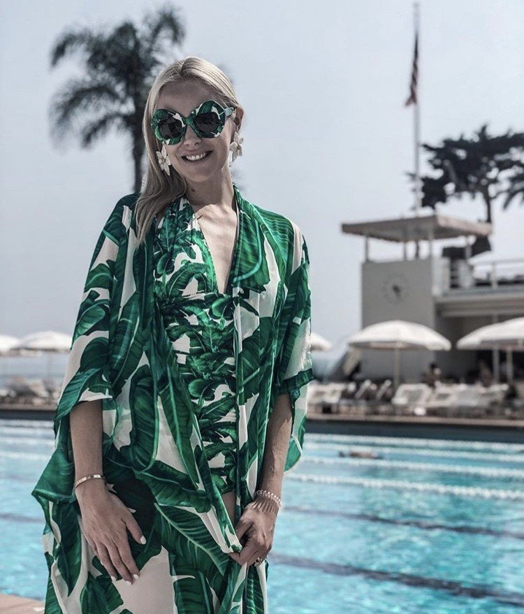 Dallas Housewife Kameron Westcott In Montecito, California- Photos