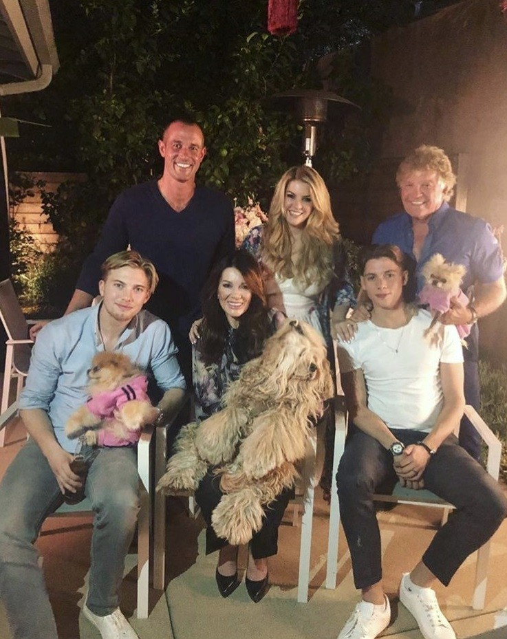Lisa Vanderpump Celebrates Birthday With Family & Mohamed Hadid- Photos