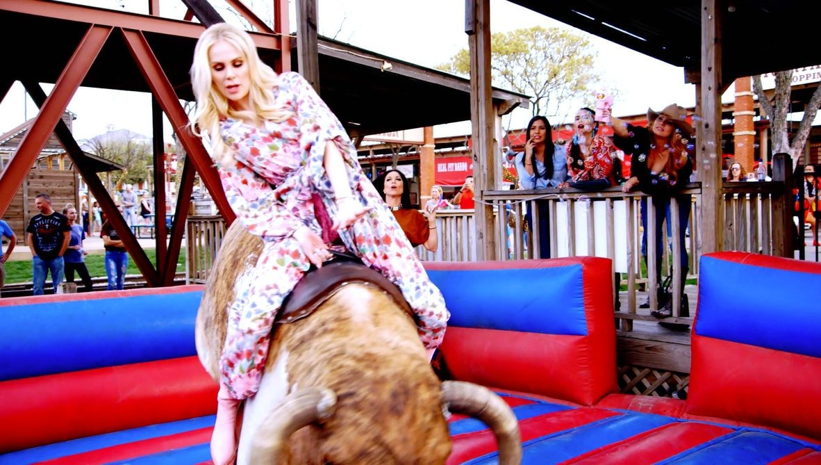 Kameron Westcott mechanical Bull