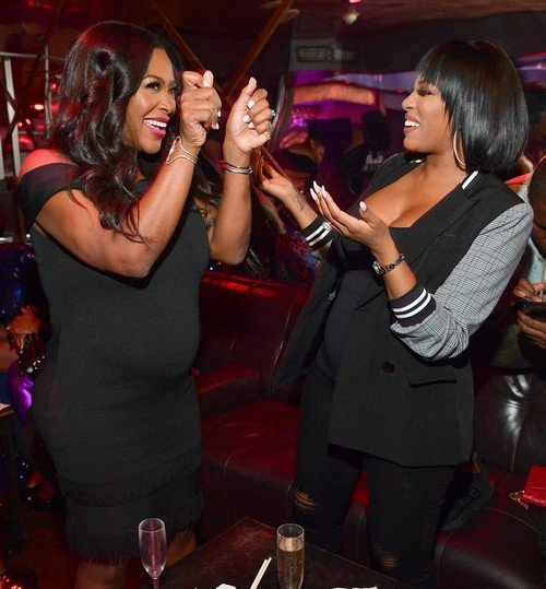 Photos: Pregnant RHOA Stars Kenya Moore & Porsha Williams and More Attend Growing Up Hip Hop Atlanta New Season Kickoff