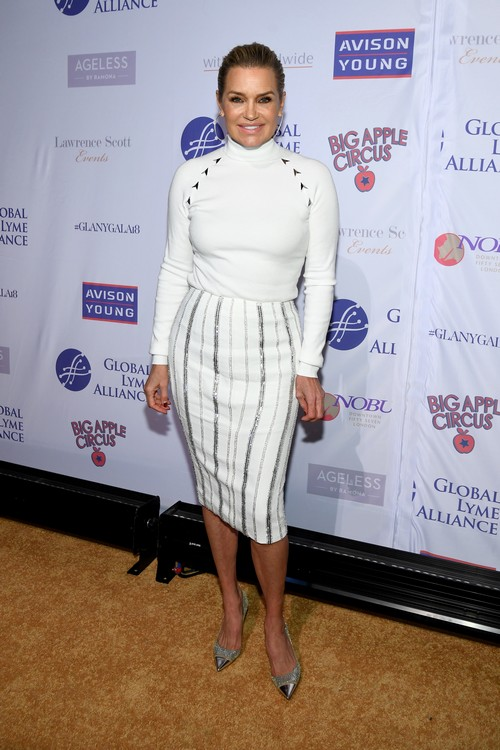 Yolanda Hadid Reveals Her Remission Is Over As She and The Real Housewives of New York Attend Global Lyme Alliance Gala – Photos