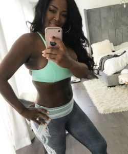 Former RHOA Star Kenya Moore Addresses Post-Baby Snapback Controversy