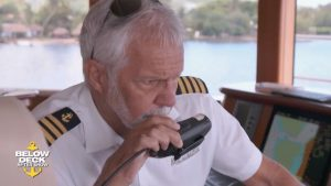 Captain Lee reacts to Ashton going overboard