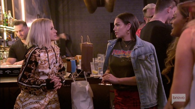Katie doesn't want Scheana at girl's night