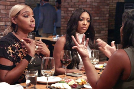 Porsha confronts Kandi about the gossip