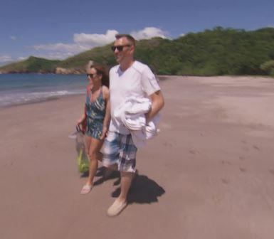 AJ-and-Stephanie-go-snorkeling Married at First Sight