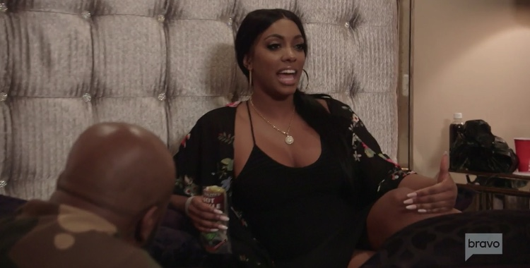Porsha Calls Out Eva Questions Dennis On Real Housewives Of